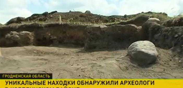 В Березовце археологи нашли остатки замка времен ВКЛ