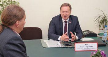 Председатель Гродненского областного Совета депутатов проведет прием граждан в Кореличах