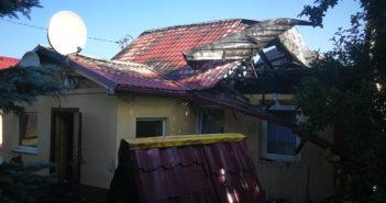 Ночью в Кореличах горел частный дом. Есть видео