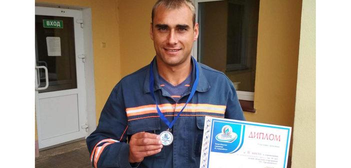 Кореличчанин Владимир Логиш взял «серебро» на областной спартакиаде «Гроднооблгаз»