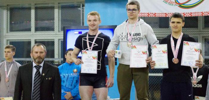 Кореличские атлеты взяли две награды на Республиканской универсиаде по пауэрлифтингу