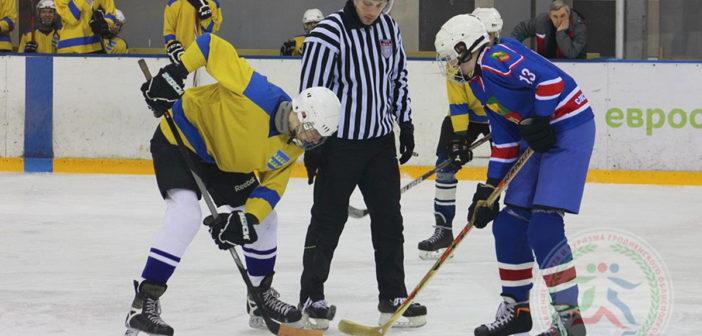 Хоккеисты Кореличского района взяли 3-е место на областном этапе «Золотой шайбы» дивизиона «Б»