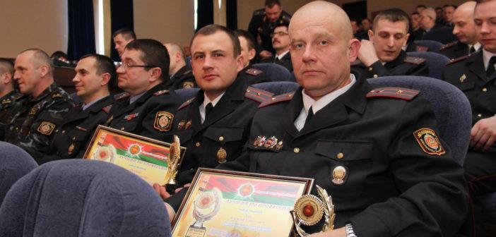 Начальник ИВС Кореличского РОВД — в числе лучших сотрудников милиции области