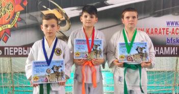Кореличские каратисты успешно выступили на республиканских соревнованиях