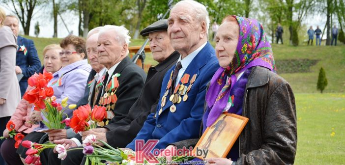 Кореличи помнят. Жители и гости райцентра отмечают День Победы (фоторепортаж)