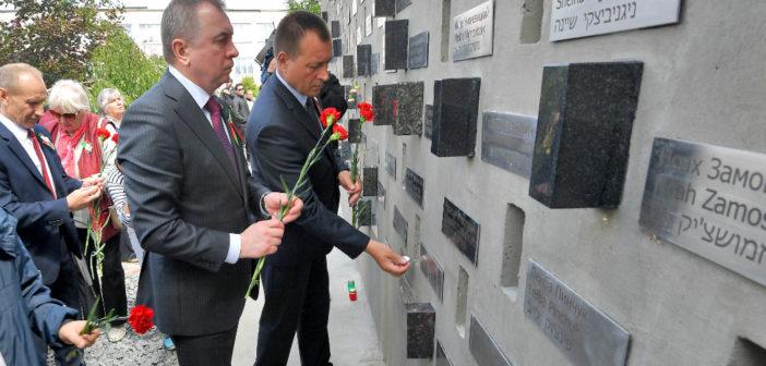 Владимир Макей принял участие в церемонии открытия Стены памяти в Новогрудке