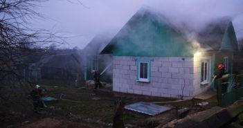 Утром 20 января в д. Заполье загорелся дом