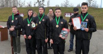 Лукские «Витязи» привезли бронзовые награды с областного разведатлона