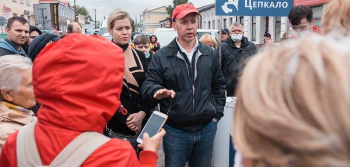 Валерий Цепкало встретится с жителями Кореличского района