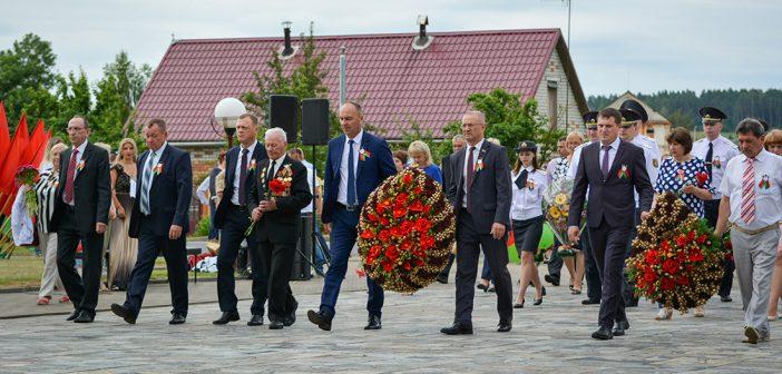 Кореличи празднуют День Независимости Республики Беларусь (фоторепортаж)