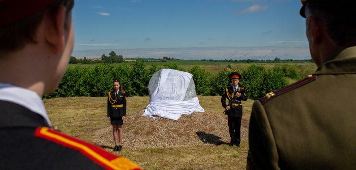 В Жуховичах открыли памятник солдатам, защищавшим Гродно в первые дни войны