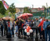 В Кореличах состоялся митинг в поддержку Светланы Тихановской