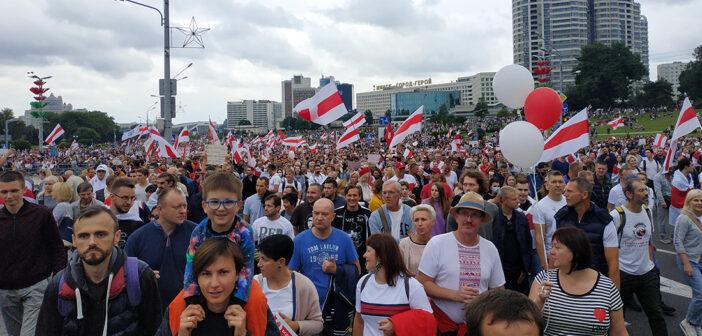 Как прошел «Марш единства» в Минске? Делимся увиденным
