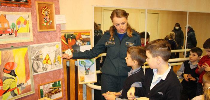 Подведены итоги районного конкурса детского творчества «Спасатели глазами детей»