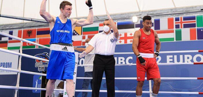 Кореличчанин Алексей Алферов завоевал бронзу на чемпионате Европы по боксу