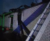 В Кореличском районе ночью горела церковь