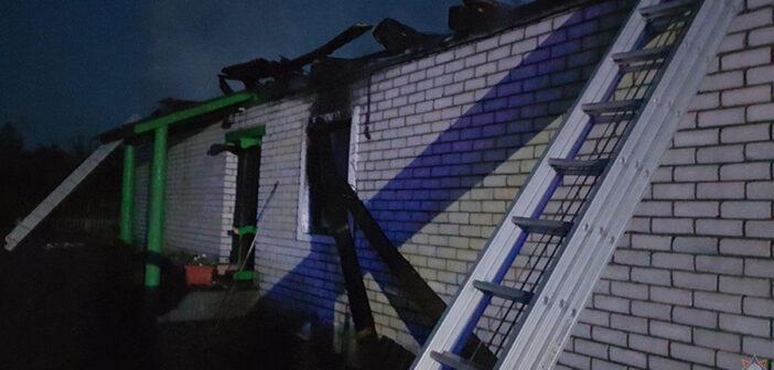 Церковь в Малюшичах просит помощи в восстановлении после пожара